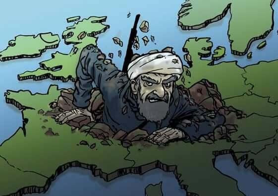 Migranterne i Europa