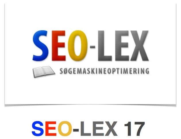SEO-LEX 17